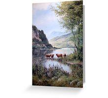 Loch Lubnaig, Scotland Greeting Card