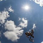 BMX rider jumping by Anthony Collins