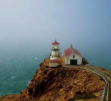 Point Reyes Lighthouse, San Francisco by Stephen Burke