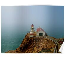 Point Reyes Lighthouse, San Francisco Poster