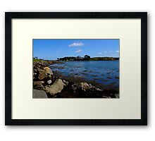 Awful weather we're having! Framed Print