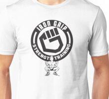 iron grip strength training  Unisex T-Shirt