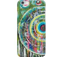 Spinning Dreams: Inner Power Painting iPhone Case/Skin