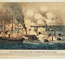 Great Naval Victory in Mobile Bay Aug 5th 1864 by allhistory