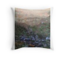 Landscape by Pierre Blanchard Throw Pillow
