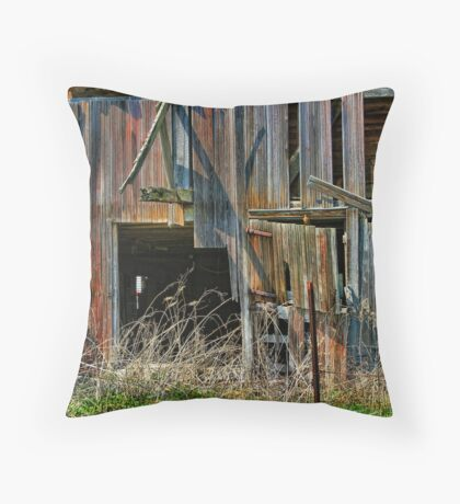 """"""" Jenga """"- color coded Throw Pillow"""