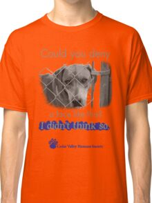 Could you not help these animals? Classic T-Shirt