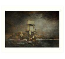 Sea stories. Art Print
