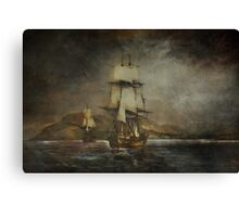 Sea stories. Canvas Print