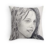 Kristen Stewart Throw Pillow