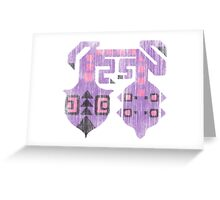 Monster Hunter - Chameleos Logo Greeting Card