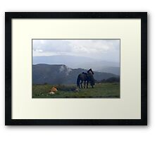 Mt Stirling - Victoria Framed Print