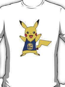 Golden State Warriors Pokemon Curry 30 Pikachu T-Shirt