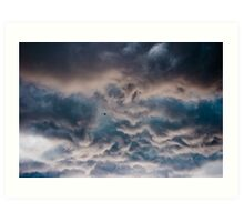 Turbulent Sky Art Print