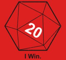 Sheldon Cooper I Win D20 by teesupply