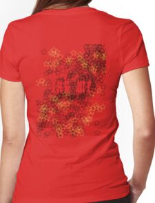 Ink Me - Tattoo T-shirt Red Womens Fitted T-Shirt