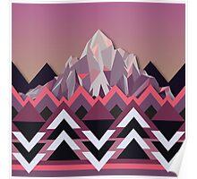 Night Mountains No. 8 Poster