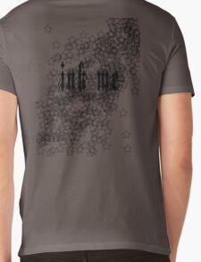 Ink Me - Tattoo T-shirt Black Mens V-Neck T-Shirt