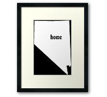 Original Nevada Home - Tshirts Framed Print