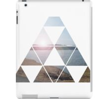 Triangle Lake iPad Case/Skin