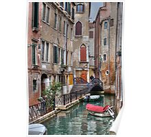 A Canal In Venice Italy Poster
