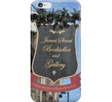 James St Books iPhone Case/Skin