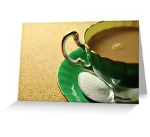 Cafe au lait Greeting Card