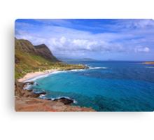 Makapuu Hawaii Canvas Print