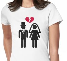 Divorce Womens Fitted T-Shirt