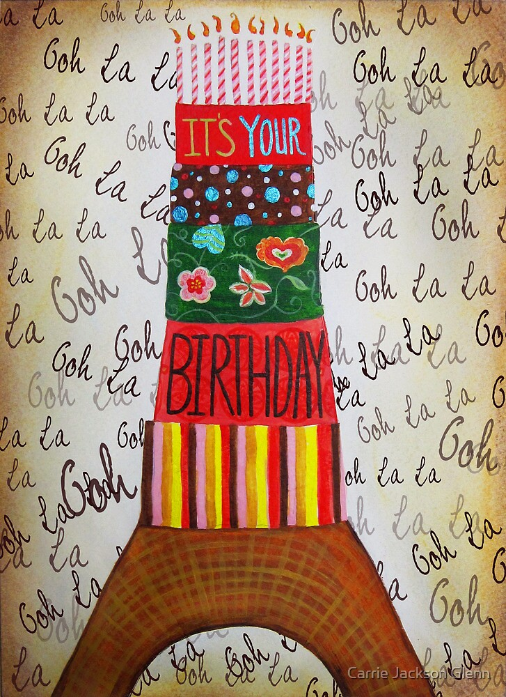 It's Your Birthday  by Carrie Jackson