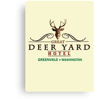 Deadly Premonition - Great Deer Yard Hotel Canvas Print
