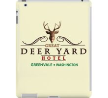 Deadly Premonition - Great Deer Yard Hotel iPad Case/Skin