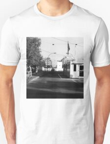BW Germany Border posts East  West Berlin 1970s T-Shirt
