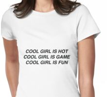 No Way Baby, I'm It. (Black Version.) Womens Fitted T-Shirt