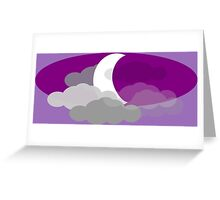 Welcome To Night Vale Waning Crescent Greeting Card