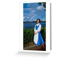 Belle's Rainbow Greeting Card