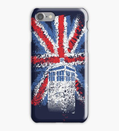 British Time Travellers iPhone Case/Skin