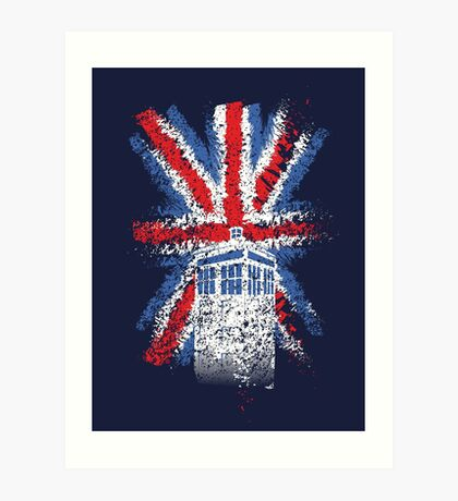 British Time Travellers Art Print
