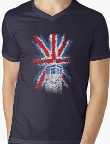 British Time Travellers Mens V-Neck T-Shirt