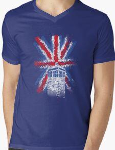 British Time Travellers Mens V-Neck T-Shirt
