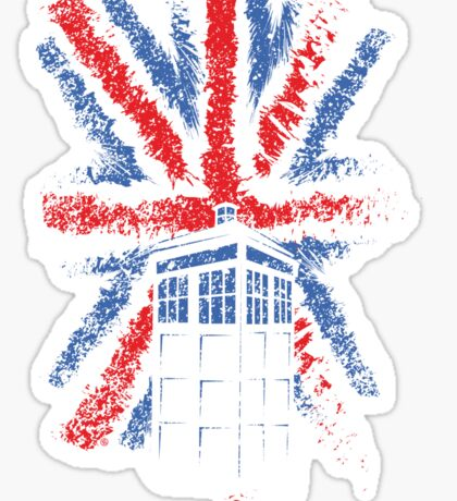 British Time Travellers Sticker