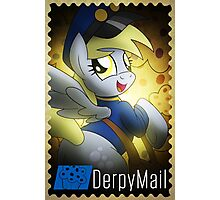 Derpy Hooves - Muffin Mail Mare! Photographic Print