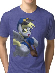 Derpy Hooves - Muffin Mail Mare! Tri-blend T-Shirt