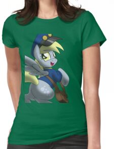 Derpy Hooves - Muffin Mail Mare! Womens Fitted T-Shirt