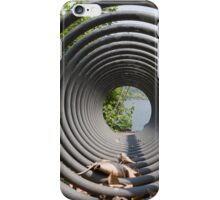 abstract landscape lake iPhone Case/Skin