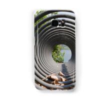 abstract landscape lake Samsung Galaxy Case/Skin