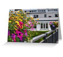 Colourful Cork Greeting Card