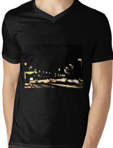 Night Drive Mens V-Neck T-Shirt