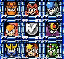 Megaman 5 boss select by Funkymunkey