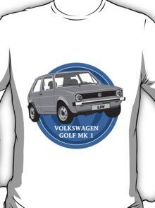 Volkswagen Golf Mk 1 Design T-Shirt